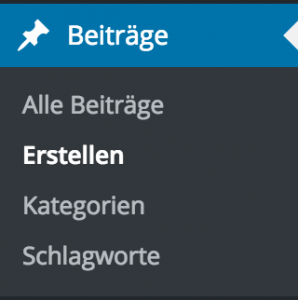 Wordpress Beiträge Navigation