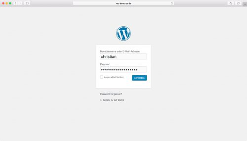WordPress Installation - Schritt 6